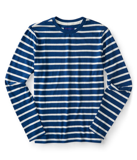 Long Sleeve Breton Stripe Tee