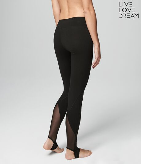 LLD Mesh Stirrup Yoga Leggings