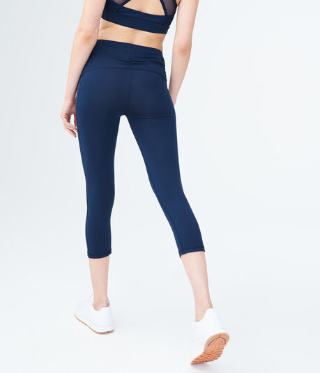 LLD Best Booty Ever Laser-Cut Crop Leggings