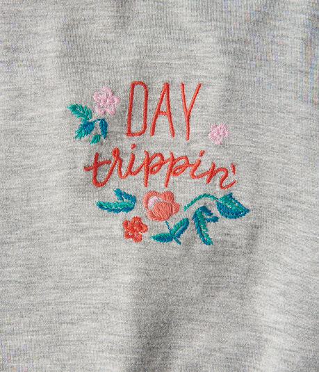 Seriously Soft Day Trippin' Girl Tee