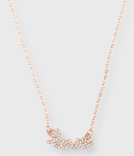 Love Short-Strand Necklace