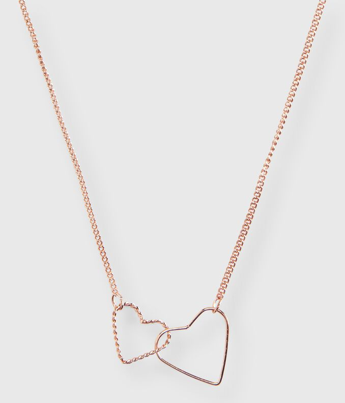 Linking Hearts Short-Strand Necklace