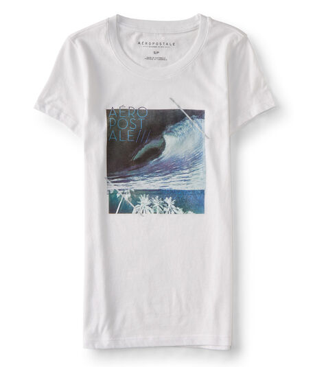 Aeropostale Wave Scene Graphic Tee