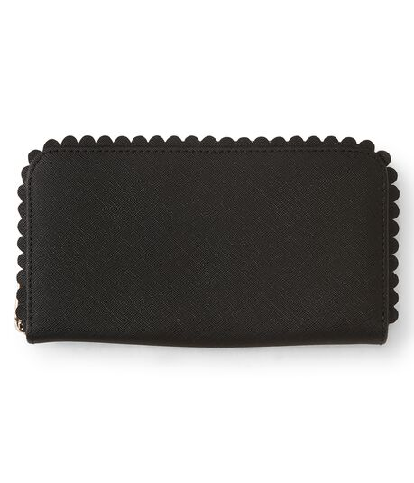 Scalloped Wallet