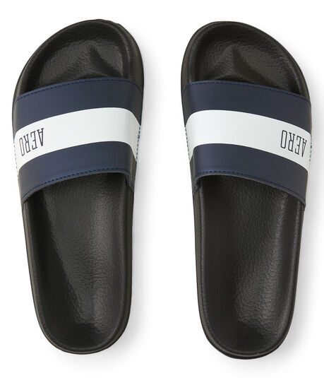 Aero Striped Slide Sandal