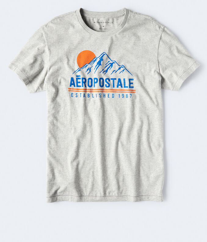 Aeropostale Established 1987 Graphic Tee