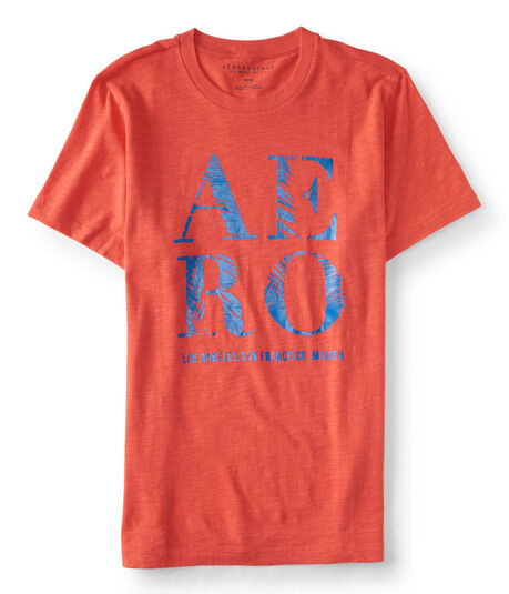 Aero Palm Logo Graphic Tee***