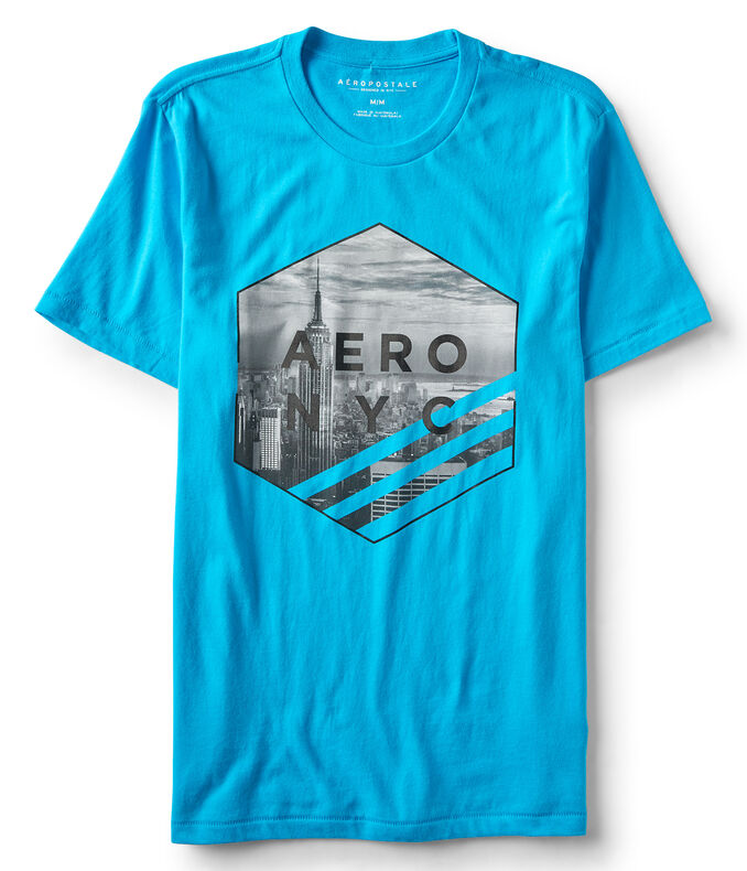 Aero NYC Hexagon Graphic Tee