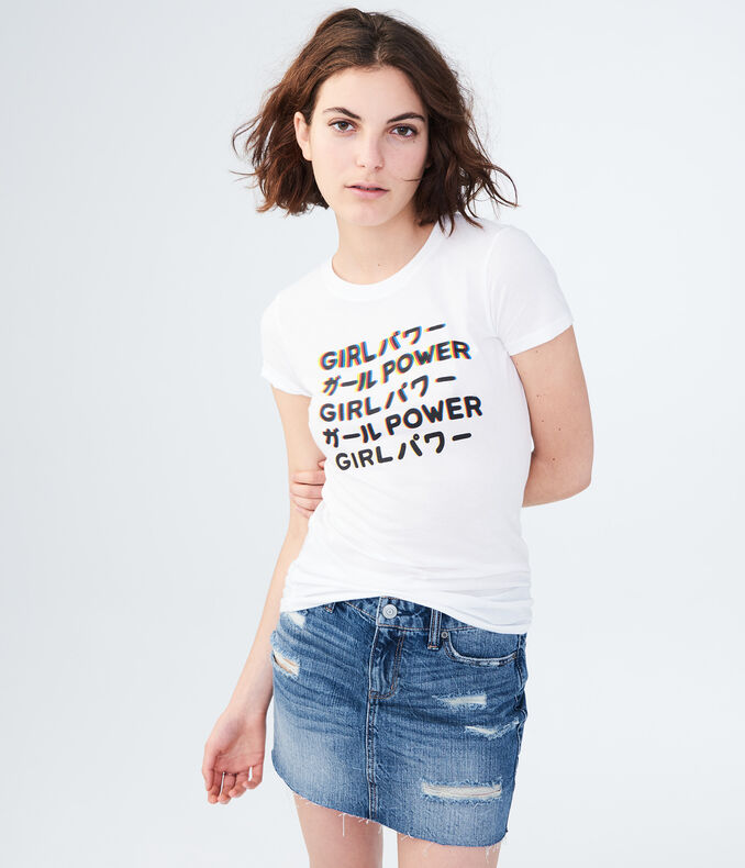 Free State Japanese Girl Power Graphic Tee