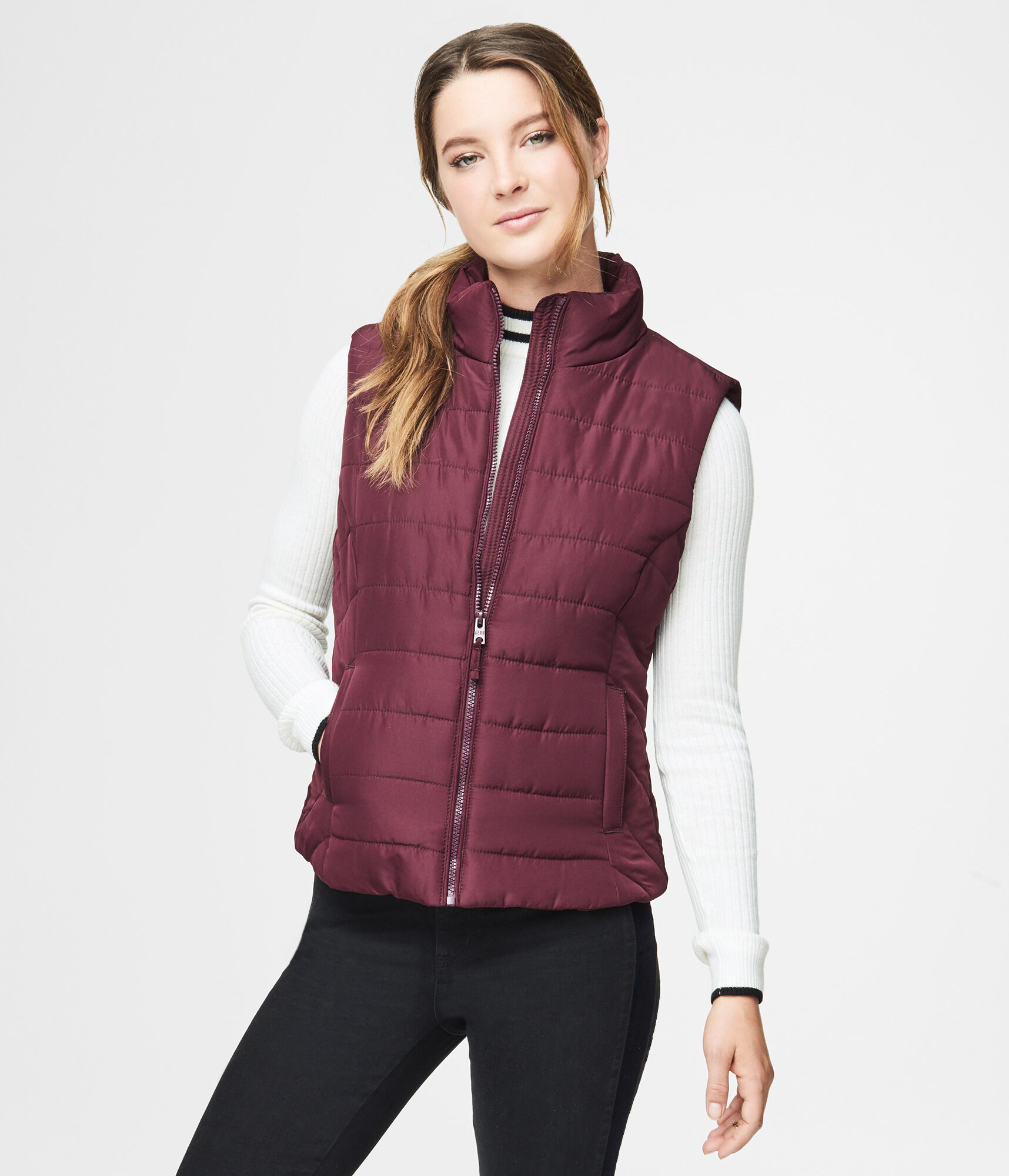 lauren vest normal gallery for navy quilt polo lyst diamond quilted in blue aviator product clothing ralph men