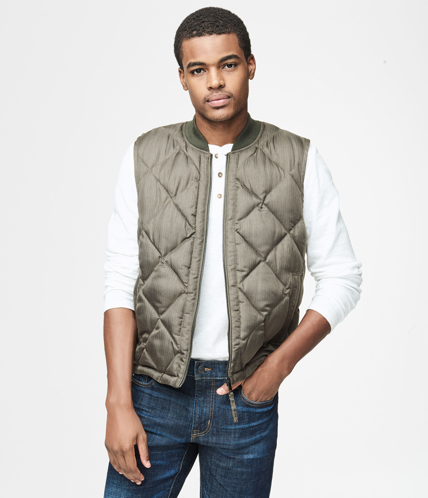 htm store pc brown cinch jeans quilt vest mens and detail quilted