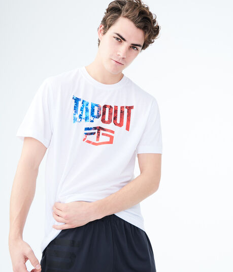 Tapout Flag Graphic Tee