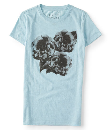 Free State Photo Florals Graphic Tee