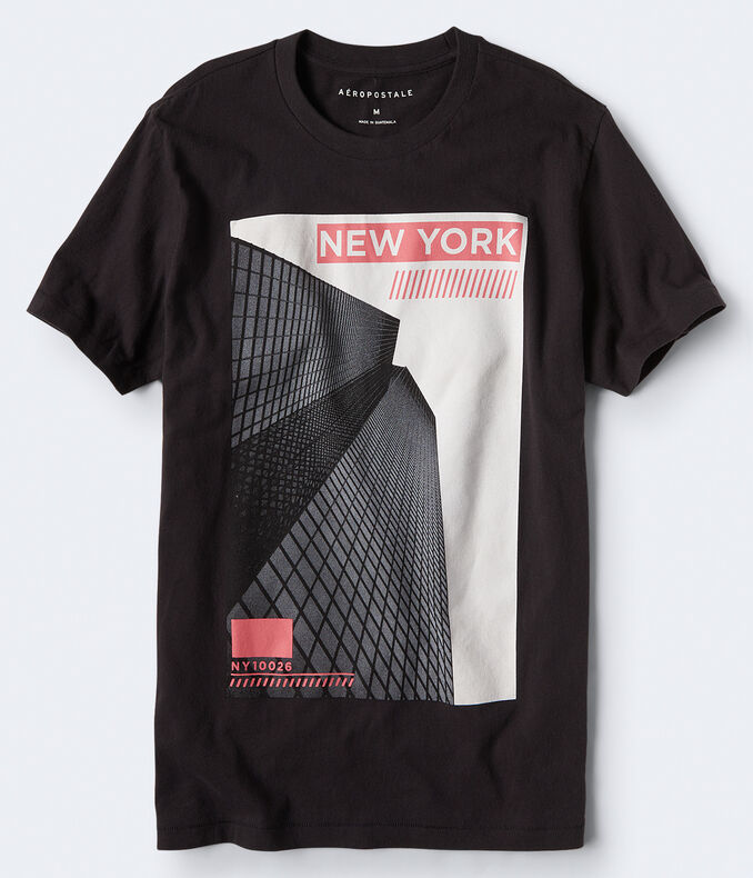 New York Skyscraper Graphic Tee