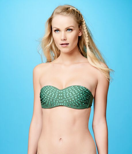 Final Sale -Cape Juby Laser Cut Bandeau Top