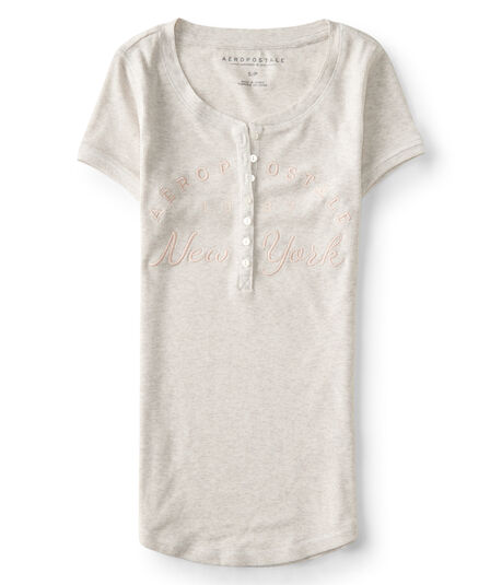 Aeropostale New York Ribbed Henley