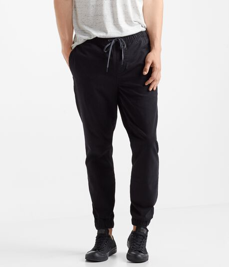 Solid Stretch Jogger Chinos