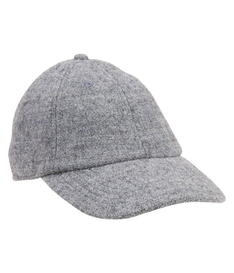 Heathered Wool Adjustable Hat