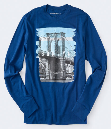 Long Sleeve Brklyn Graphic Tee