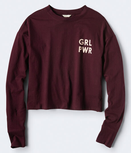 Long Sleeve Grl Pwr Graphic Tee***