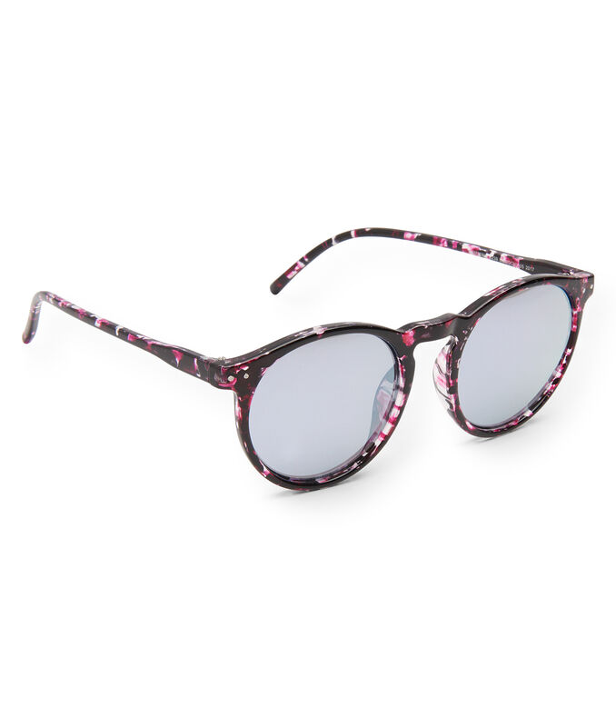 Multi Round Mirrored Sunglasses