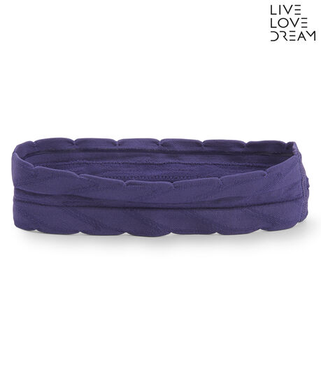 LLD Solid Scalloped Seamless Headband