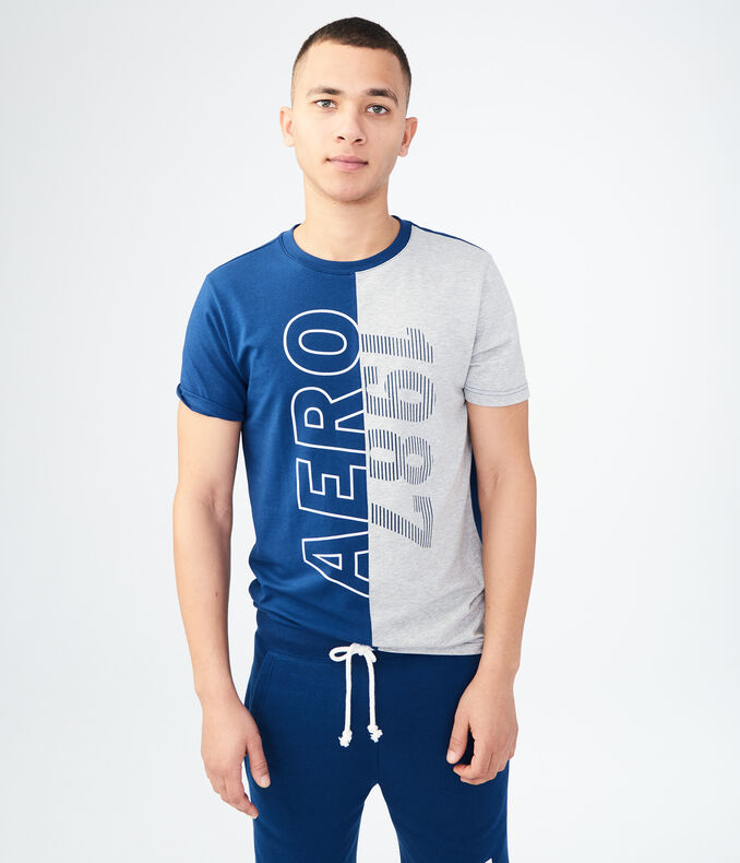 Aero 1987 Split Stretch Graphic Tee