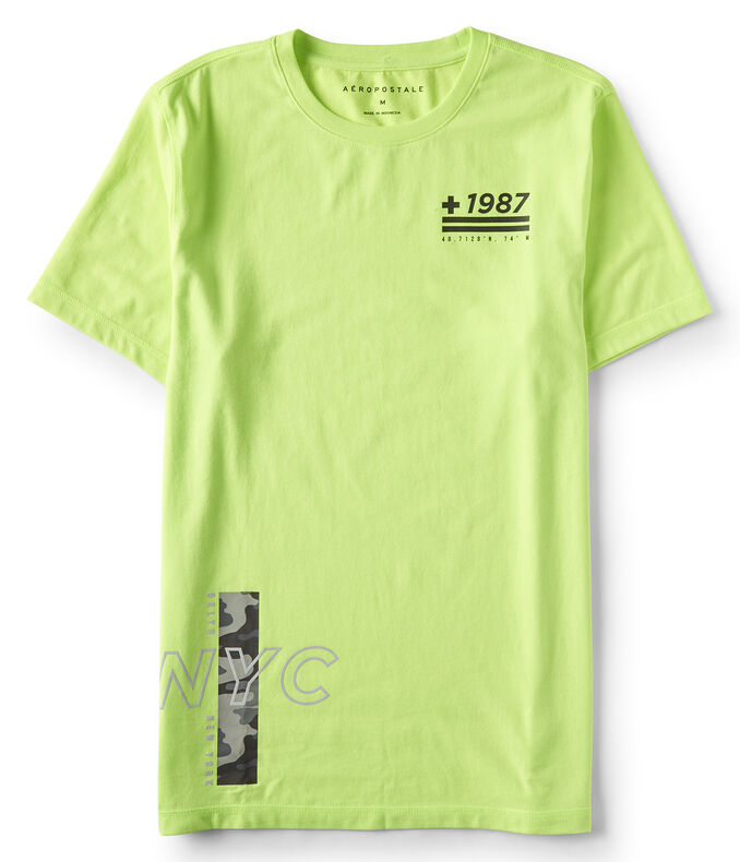 +1987 NYC Stretch Graphic Tee