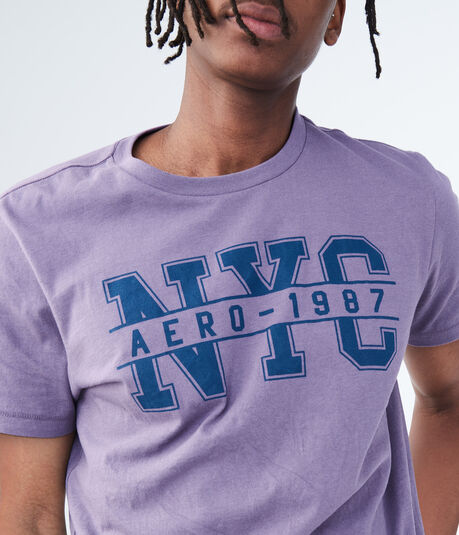 Aero-1987 NYC Stretch Graphic Tee