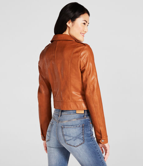 Cape Juby Faux Leather Jacket