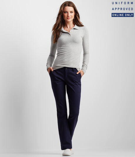 Curvy Core Twill Pants***