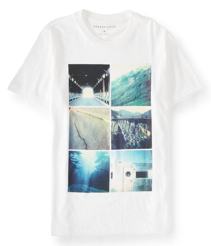 Outdoor Blocks Graphic Tee***