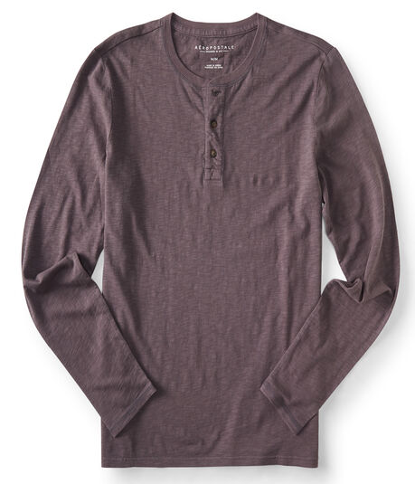 Long Sleeve Surf Wash Henley