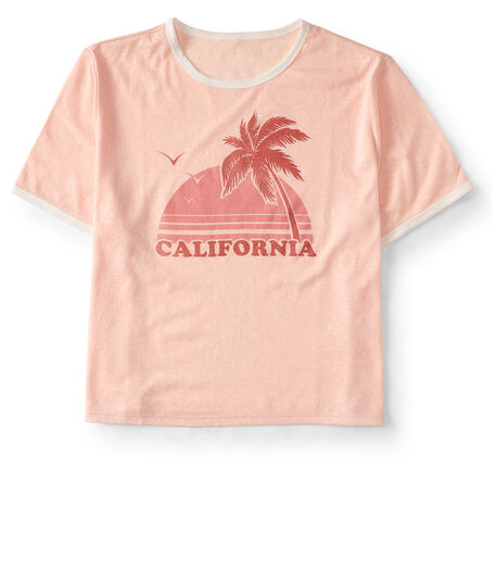 California Crop Graphic Tee
