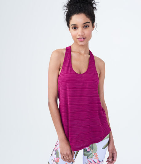 LLD Shadow Stripe Racerback Tank