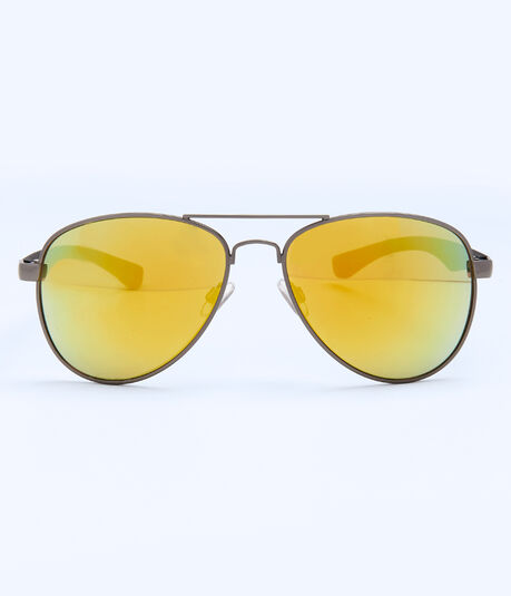 Sunset Mirrored Aviator Sunglasses