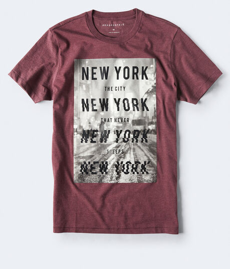 Blurry City Graphic Tee