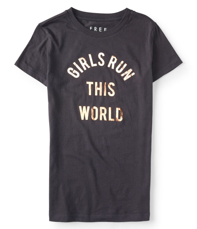 Final Sale -Free State Girls Run This World Graphic Tee