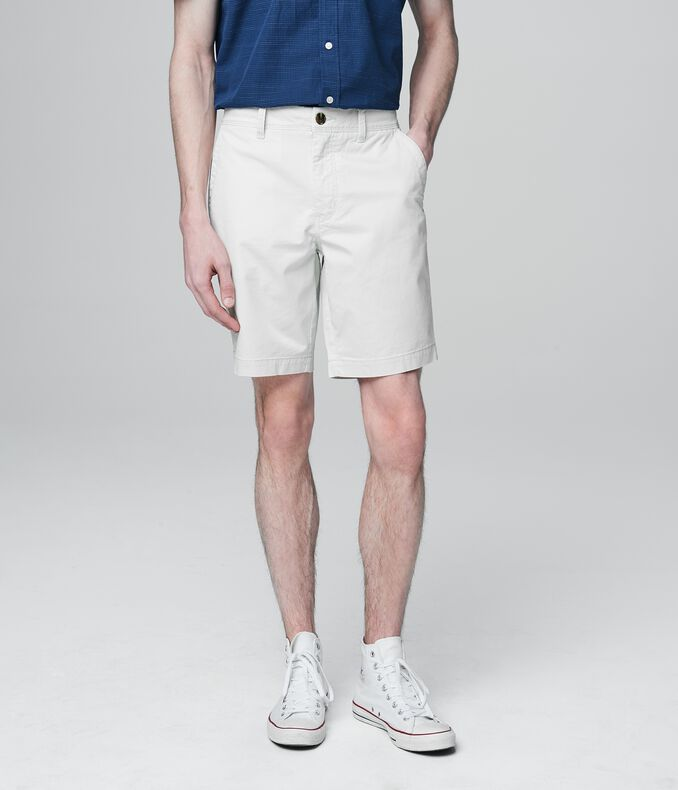 Prince & Fox Solid Slim Stretch Shorts