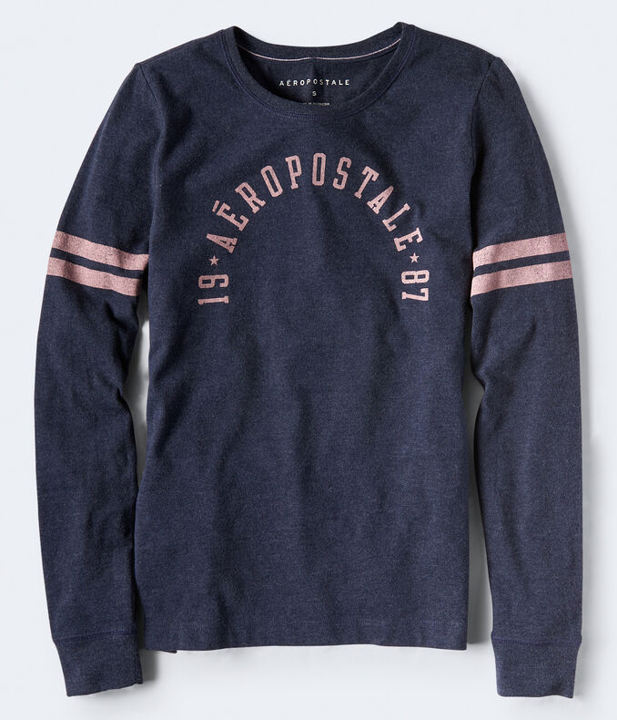 Long Sleeve Aeropostale Graphic Tee