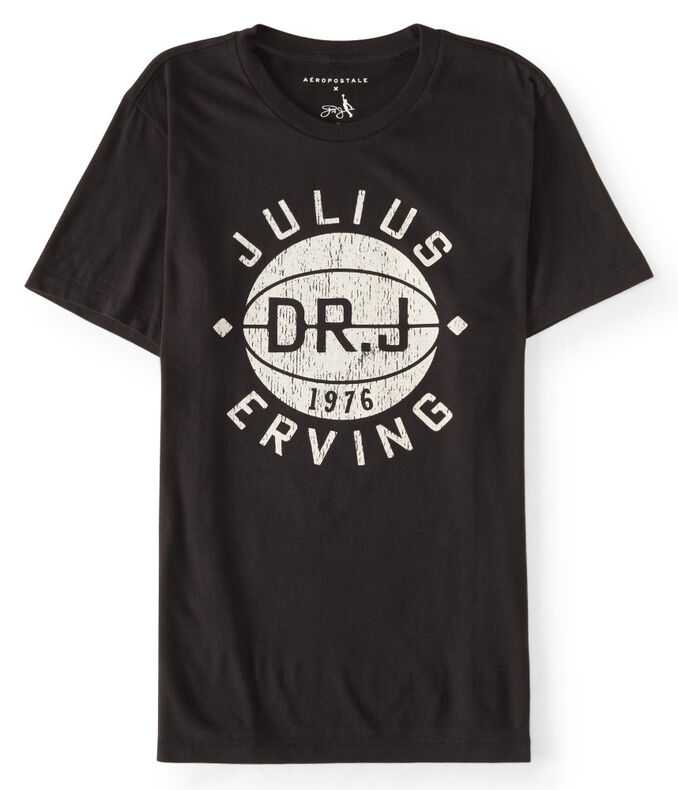 Guys' Dr. J Basketball Graphic Tee