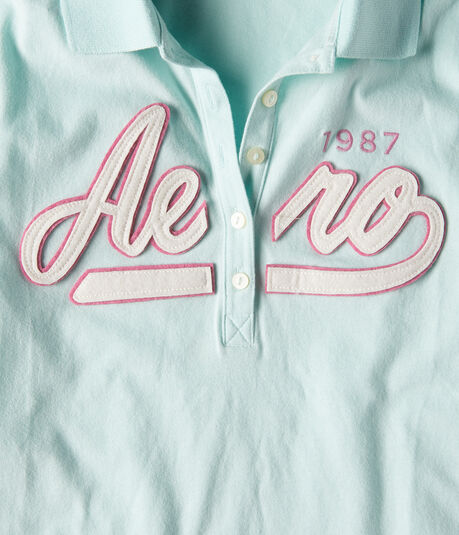 Aero 1987 Graphic Jersey Polo