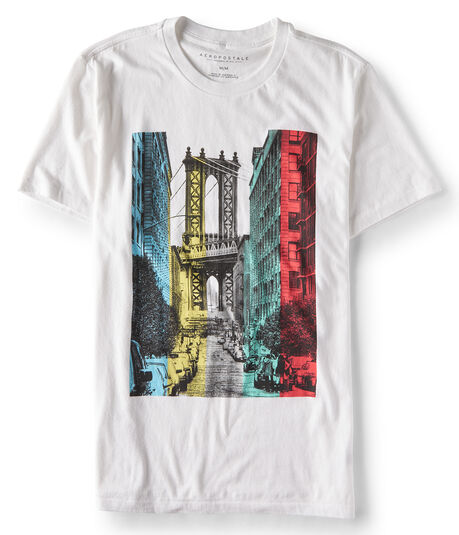 Rainbow City Graphic Tee