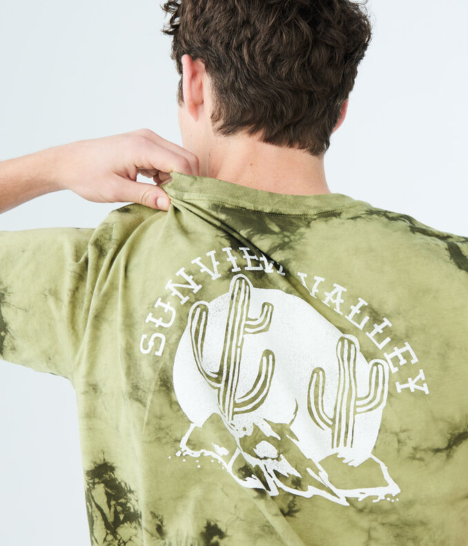 Sunview Valley Tie-Dye Graphic Tee