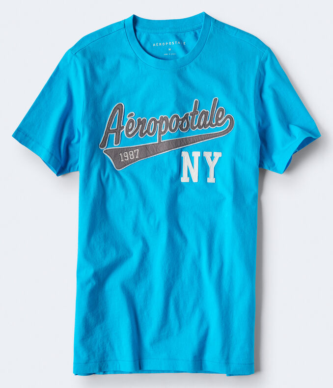 Aéropostale 1987 NY Logo Graphic Tee