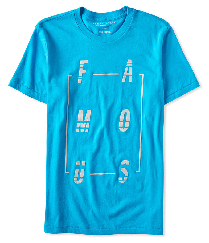 Famous Graphic Tee***
