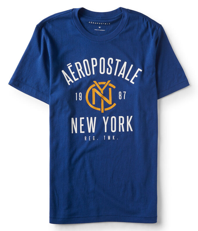 Aeropostale 19NYC87 Graphic Tee