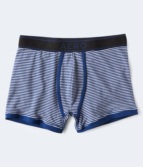 Striped Reflex Knit Trunks