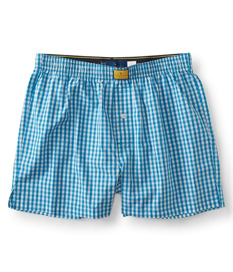Prince & Fox Gingham Woven Boxers