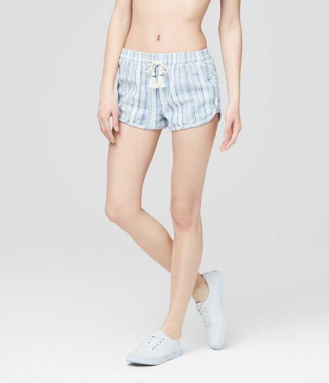 Cape Juby Textured Stripe Soft Shorts